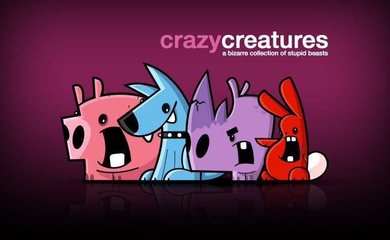 сумасшедшие существа