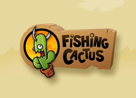 лого с иллюстрацией кактуса