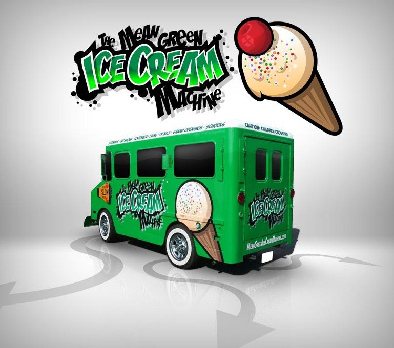 грузовичок с мороженным