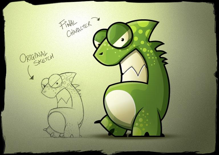 иллюстрация динозавра