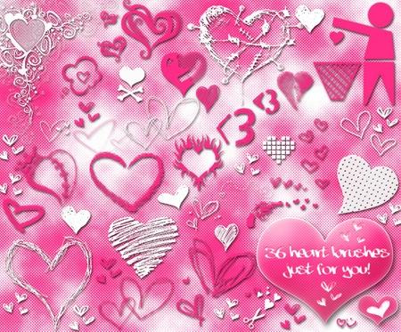 Кисти-сердца