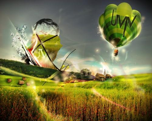 волшебная зеленая земля