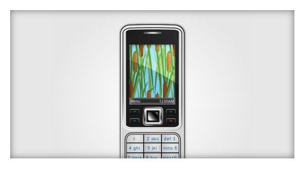 Векторный телефон