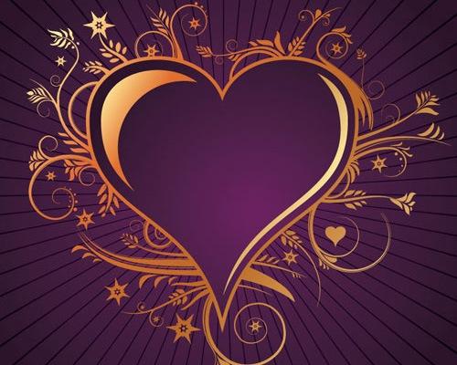 Сердце в векторе