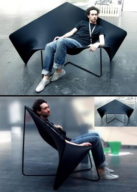 Натяжной диван