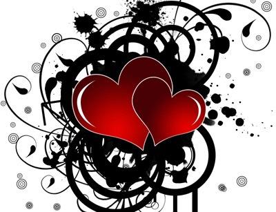 Обои с сердцами