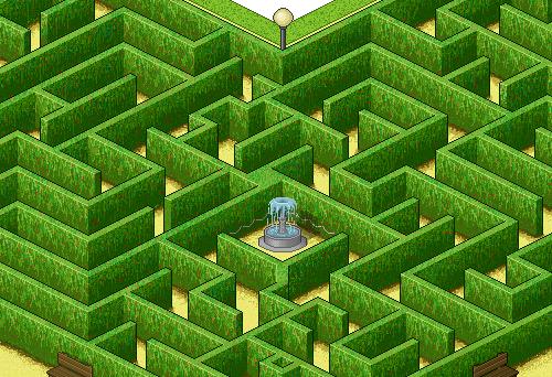 Город в пиксельном исполнении