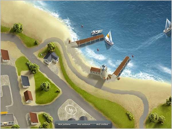 Потрясный 3D городок на сайте City Expression