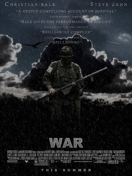 Создайте постер к фильму о войне