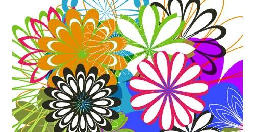 Бесплатные векторные цветы