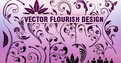 Векторный цветочный дизайн