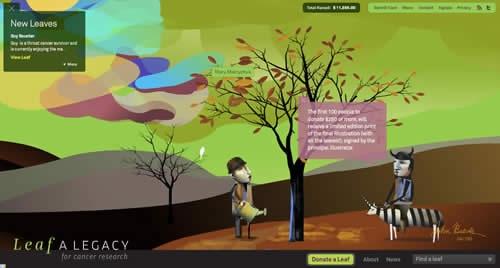 Креативный и очень необычный сайт