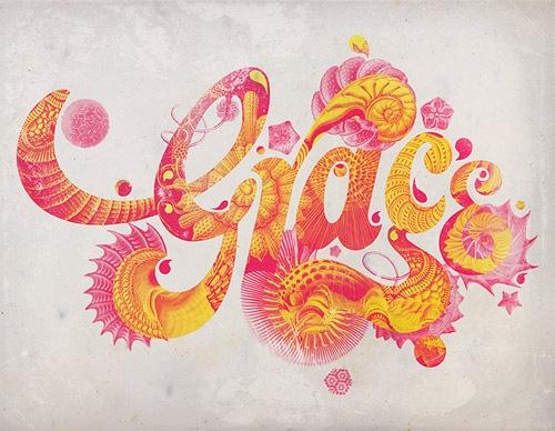 40 типографических дизайнов