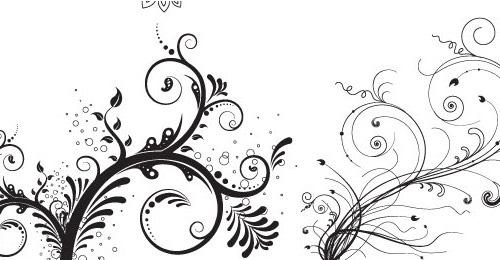 5 цветочных орнаментов