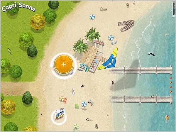 Яркий детский сайт Capri Sonne