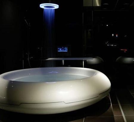 Ванна в форме кольца Sci-Fi