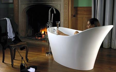 14 стильных необычных ванн