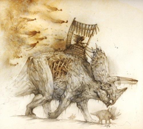 вымершие динозавры