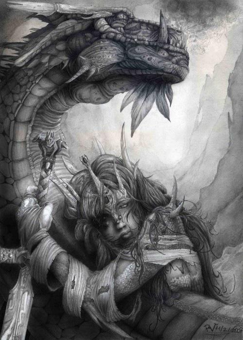 дракон Дамы