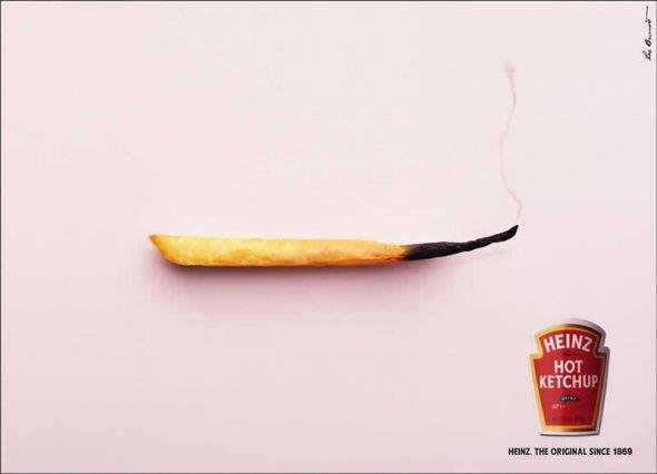 Острый кетчуп Heinz