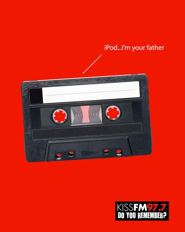 Рекламный постер радиостанции