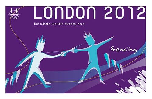 яркий дизайн к олимпиаде в Лондоне