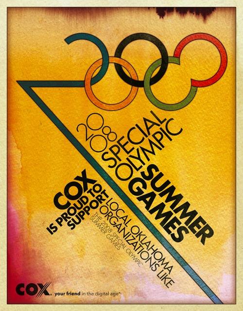 Постер к летним Олимпийским играм 2008