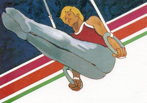 Иллюстрация к летним Олимпийским играм