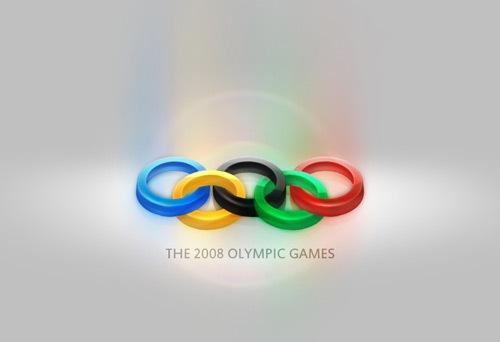 3D Олимпийский логотип