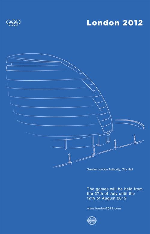 Олимпийский постер