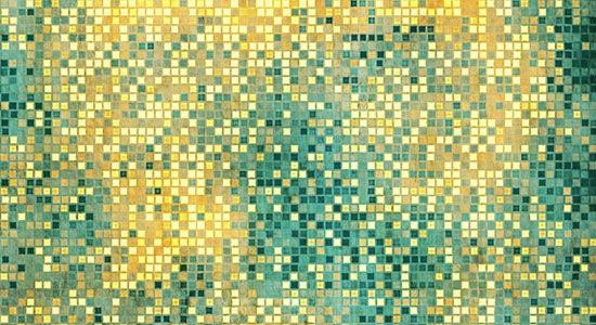 яркие зеленые плитки