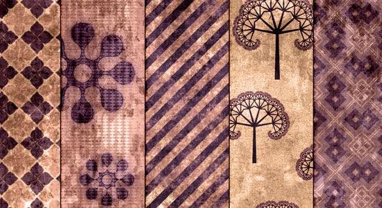 9 текстур в оттенках бургунди