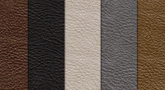 5 кожанных текстур
