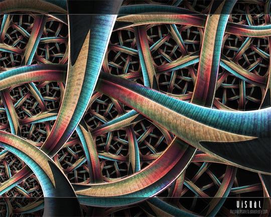 Абстрактное плетение