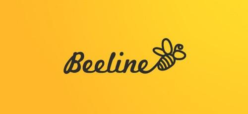 типографика и пчела