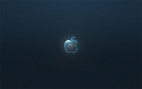 Стеклянный Apple