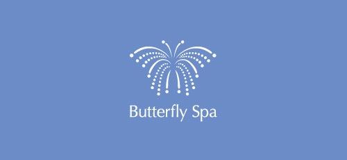логотип в виде бабочки