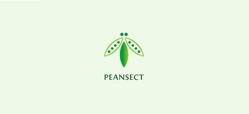 зеленый жук на лого