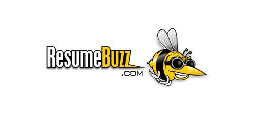 стильная пчела на лого