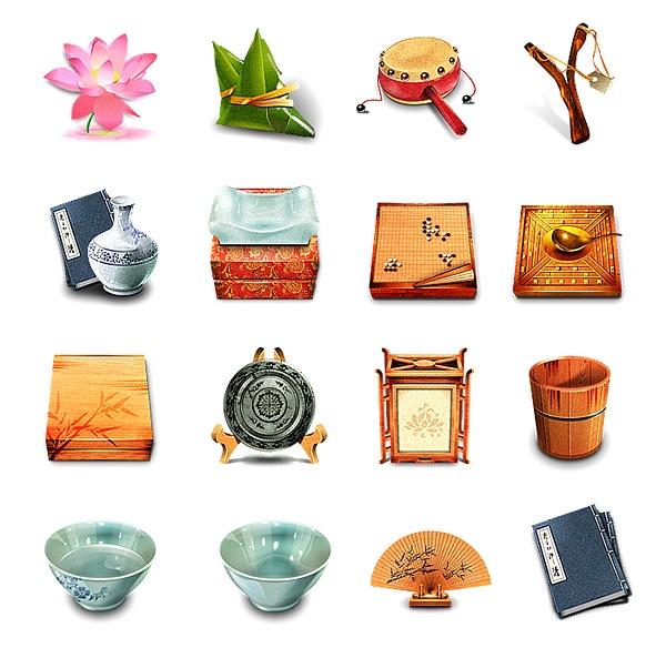 Иконки в китайском стиле