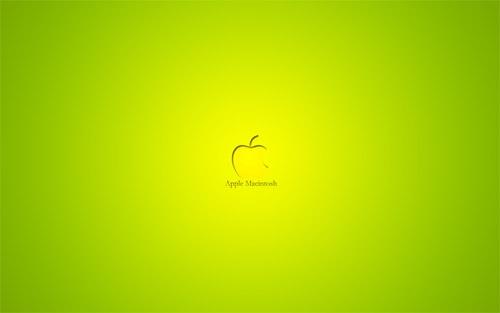 Яркий Apple оттенков лайма