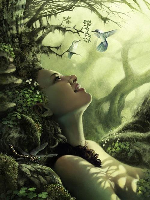 Девушка природы (2D)