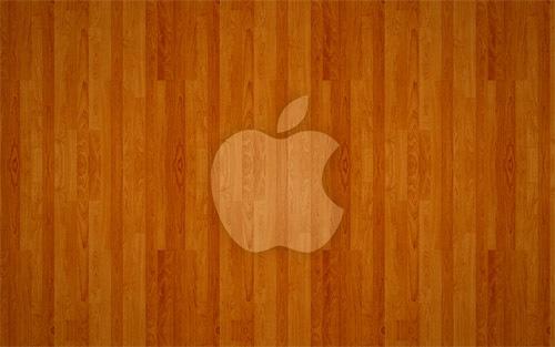 деревянный Apple