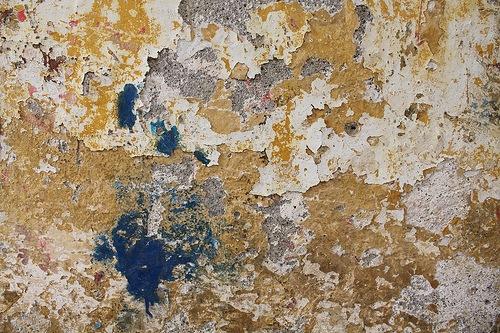 Текстура старой облущенной стены
