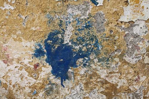 Текстура стены с ржавчиной