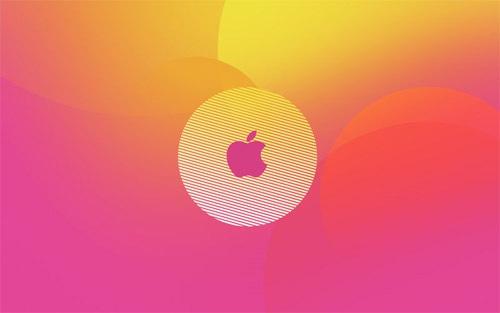Apple в стиле 80-ых