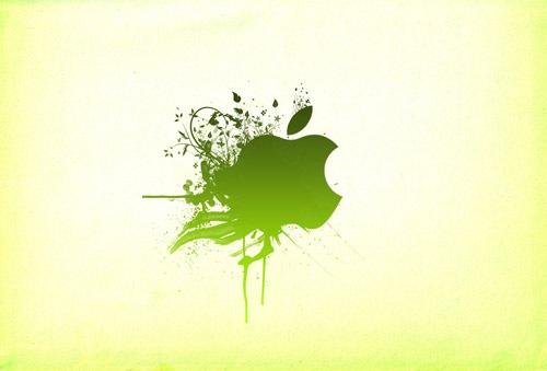 Apple с природными узорами