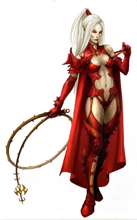 кровавая эльфийка