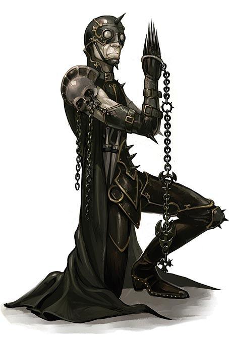 иллюстрация темного рыцаря