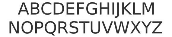 жирный обведенный шрифт
